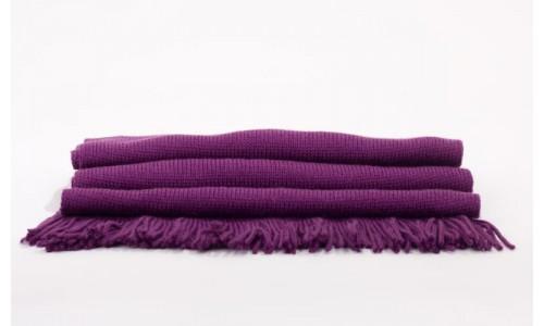 Echarpe violette - Sangria